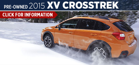 Click to See The 2015 Subaru XV Crosstrek Model in Redwood City, CA
