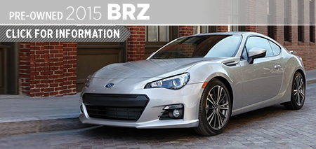 View 2015 Subaru BRZ Model Information in San Diego, CA