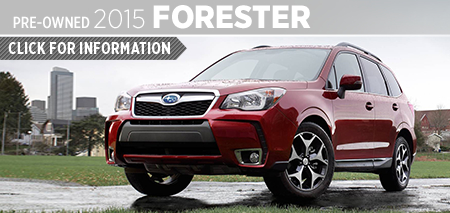 Click to View 2015 Subaru Forester Model Information Kearny Mesa Subaru