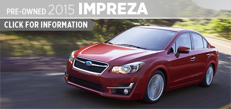 View 2015 Subaru Impreza Model Information in San Diego, CA