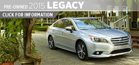 Click to View 2015 Subaru Legacy Model Information Kearny Mesa Subaru