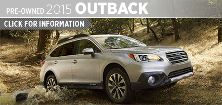 Click to View 2015 Subaru Outback Model Information Kearny Mesa Subaru