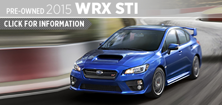 View 2015 Subaru Impreza WRX STI Model Information in San Diego, CA