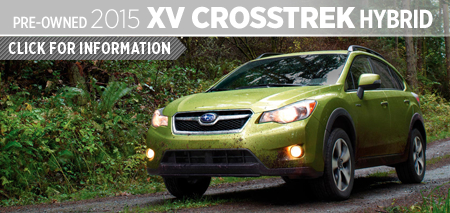 The versatile 2015 Subaru XV Crosstrek Hybrid can help you explore more of the great outdoors while being greener in the process - learn more with model information provided by Kearny Mesa Subaru in San Diego, CA