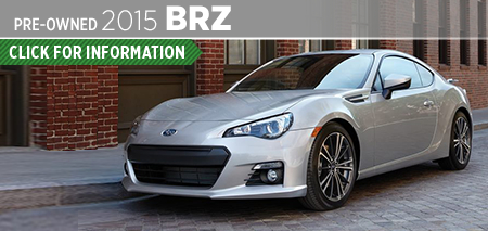 Click to View 2015 Subaru BRZ Model Information Carter Subaru Shoreline