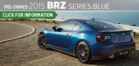 Click to View 2015 Subaru Series.Blue BRZ Model Information Carter Subaru Ballard