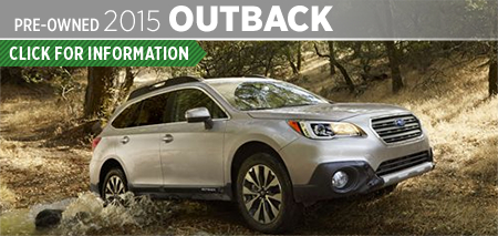 Click to View 2015 Subaru Outback Model Information & Specifications in Seattle, WA