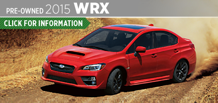 Click to View 2015 Subaru WRX Model Information & Specifications in Seattle, WA