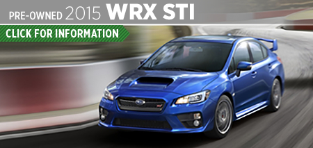 Click to View 2015 Subaru WRX STI Model Information & Specifications in Seattle, WA