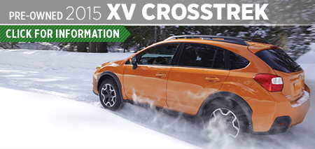 Click to View 2015 Subaru XV Crosstrek Model Information & Specifications in Seattle, WA