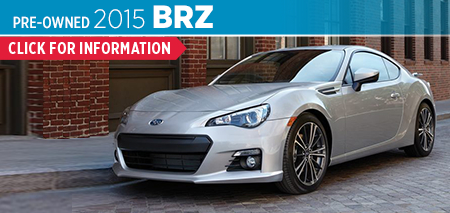 Click to View The 2015 Subaru BRZ Model in Columbus, OH