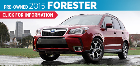 View details on the Certified Pre-Owned 2015 Subaru Forester at Byers Airport Subaru