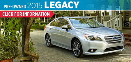 View details on the Certified Pre-Owned 2015 Subaru Legacy at Byers Airport Subaru