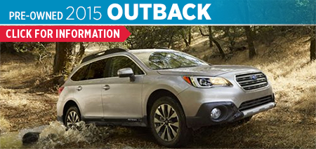 View details on the Certified Pre-Owned 2015 Subaru Outback at Byers Airport Subaru