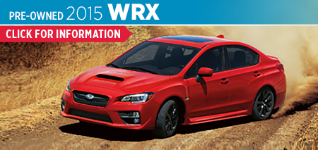 View details on the Certified Pre-Owned 2015 Subaru WRX at Byers Airport Subaru