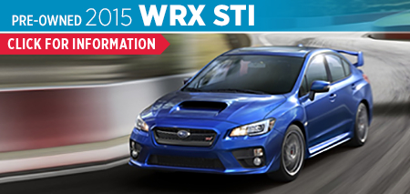 View details on the Certified Pre-Owned 2015 Subaru WRX STI at Byers Airport Subaru