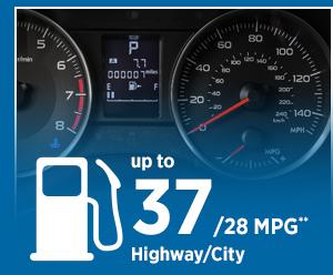 2015 Subaru Impreza Mileage