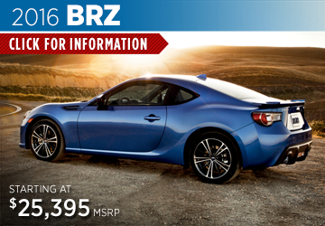 Click For 2016 Subaru BRZ Model Details in Salem, OR