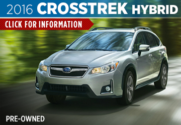 Click For Pre-Owned 2016 Subaru Crosstrek Hybrid Details in San Bernardino, CA