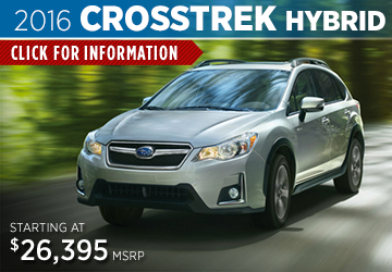 Click to View The 2016 Subaru Crosstrek Hybrid Model in Salem,  OR