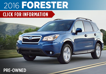 Click For Pre-Owned 2016 Subaru Forester Model in San Bernardino, CA