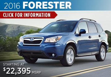 Click For 2016 Subaru Forester Model Details in Salem, OR