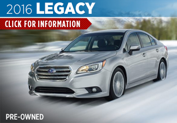 Click For Pre-Owned 2016 Subaru Legacy Model in San Bernardino, CA