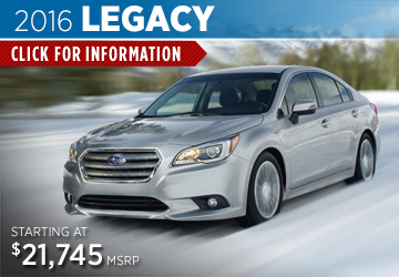 Click For 2016 Subaru Legacy Model Details in Salem, OR