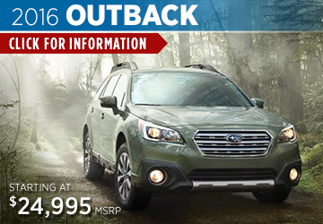 Click For 2016 Subaru Outback Model Details in Salem, OR