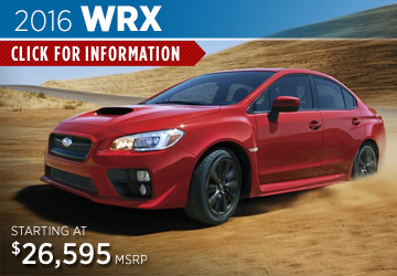 Click For 2016 Subaru WRX Model Details in Salem, OR