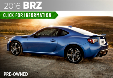 Click to View The Pre-Owned 2016 Subaru BRZ Model in Thornton, CO