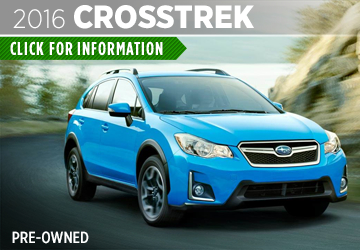 Click to View The Pre-Owned 2016 Subaru Crosstrek Model in Thornton, CO