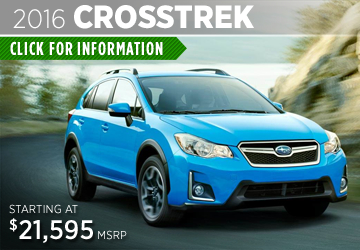 Click to View The New 2016 Subaru Crosstrek Model in Thornton,  CO