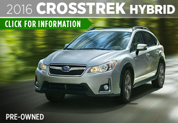 Click to View The Pre-Owned 2016 Subaru Crosstrek Hybrid Model in Thornton, CO