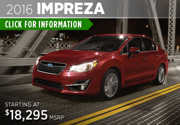 Click to View The New 2016 Subaru Impreza Model in Thornton, CO