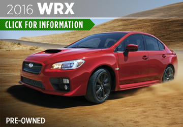 Click to View the Pre-Owned 2016 Subaru WRX Details & Specifications