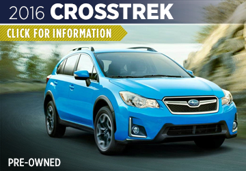 Click For 2016 Subaru Crosstrek Model Information in Shingle Springs, CA