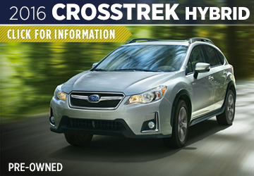 Click to Research The 2016 Subaru Crosstrek Hybrid Model Serving Sacramento, CA