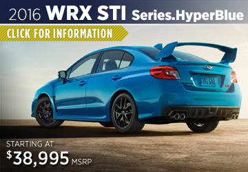 Click to Research The New 2016 Subaru WRX Series.HyperBlue Model Serving Sacramento, CA