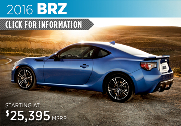 Click to View 2016 Subaru BRZ Information