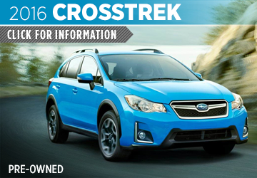 Click to research the 2016 Subaru CPO Crosstrek model in Salt Lake City, UT