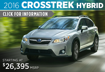 Click to View 2016 Subaru Crosstrek Hybrid Information