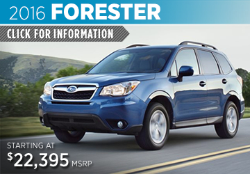 Click to View 2016 Subaru Forester Information