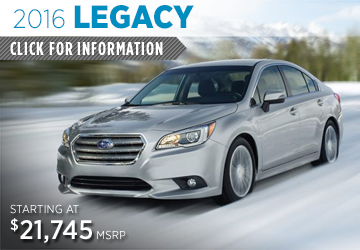 Click to View 2016 Subaru Legacy Information