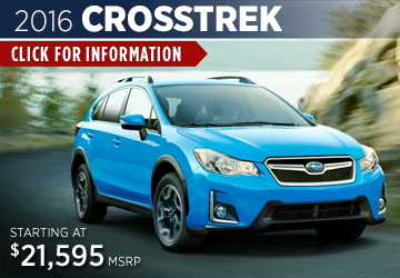 Click to View New 2016 Subaru Crosstrek Model  Information in Redwood City, CA