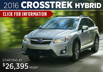 Click to View The 2016 Subaru Crosstrek Hybrid Model in  Redwood City, CA