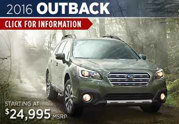 Click to View New 2016 Subaru Outback Model Information in Redwood City, CA