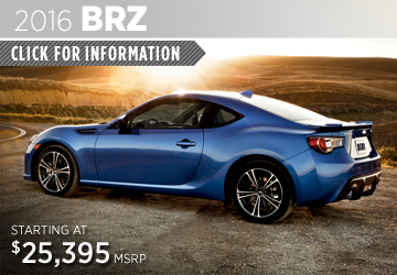 Click to View Our 2016 Subaru BRZ Model Information in  San Diego, CA