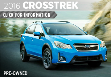 Click For 2016 Subaru Crosstrek Details in San Diego, CA