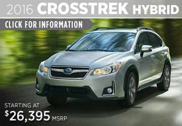 Click For 2016 Subaru Crosstrek Hybrid Details in San Diego, CA